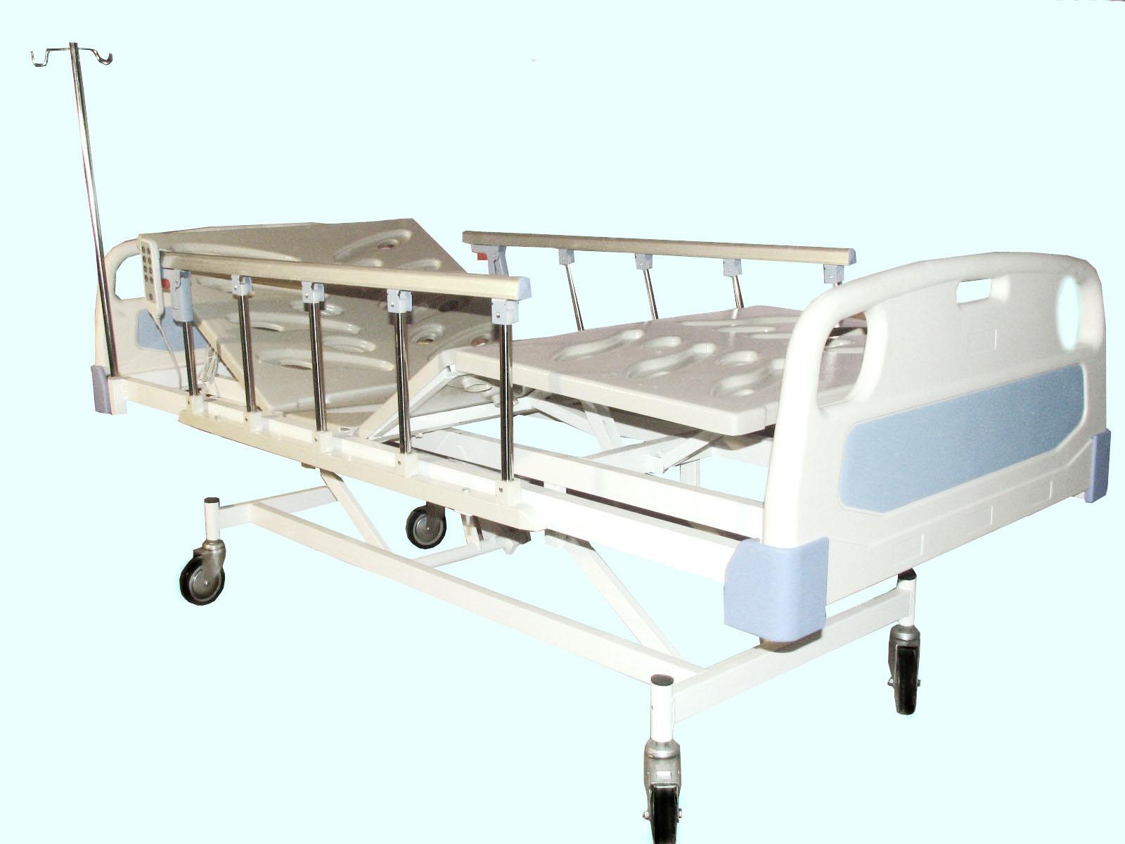 تخت بیمارستانی سه شکن برقی – کد 102