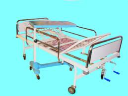 تخت بیمارستانی دو شکن - کد 107