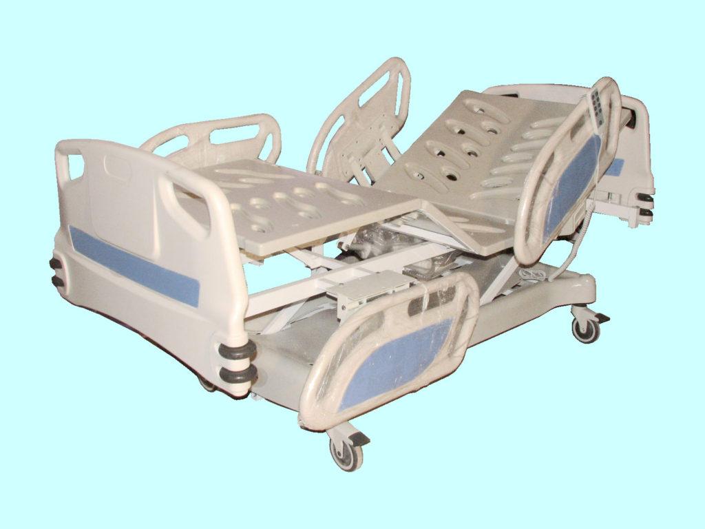 تخت بیمارستانی صحرائی - تخت بیمارستانی تمام ABS - تخت بیمارستانی برقی