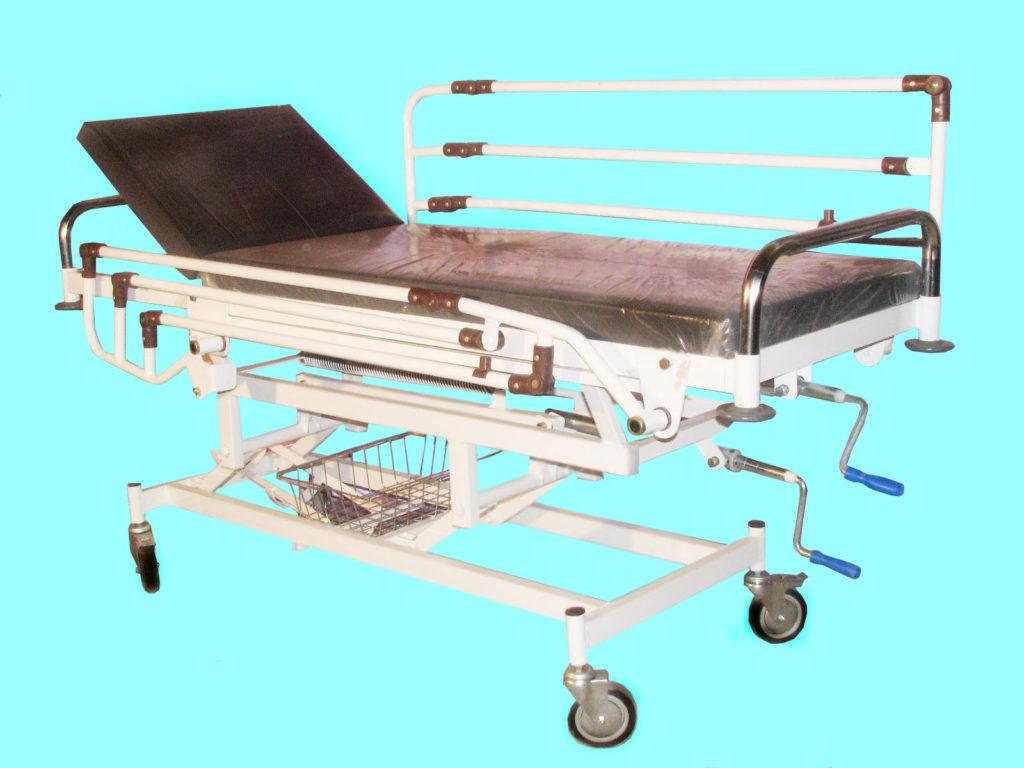 تخت ریکاوری | تخت ریکاوری کد 123 | تخت بیمارستانی صنایع پزشکی صحرایی